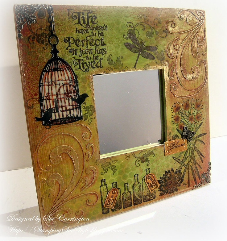 Stamping Sue Style: Playing with Fresco's !