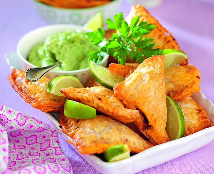 Glutenfria tacopiroger med guacamole | Året Runt