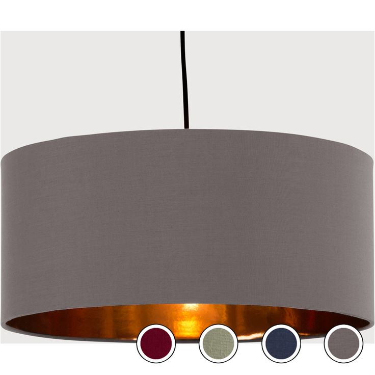 Hue Pendant Shade, Cobalt Blue and Copper from Made.com. Metallic/Blue. Inspired by glamorous hotel lobbies, Hue maximises the ambience and gives yo..