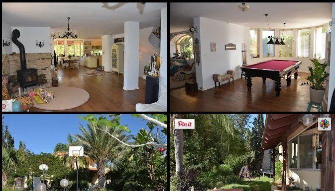 """Even Yehuda For Sale """"manoir"""" luxueux et spacieux avec environ 7-9 chambres+grand sous-sol"""
