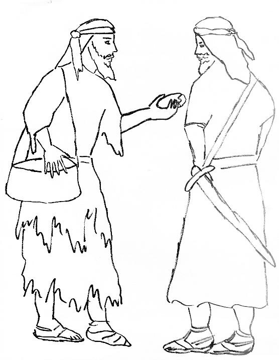 joshua and gibeonites coloring pages - photo#6