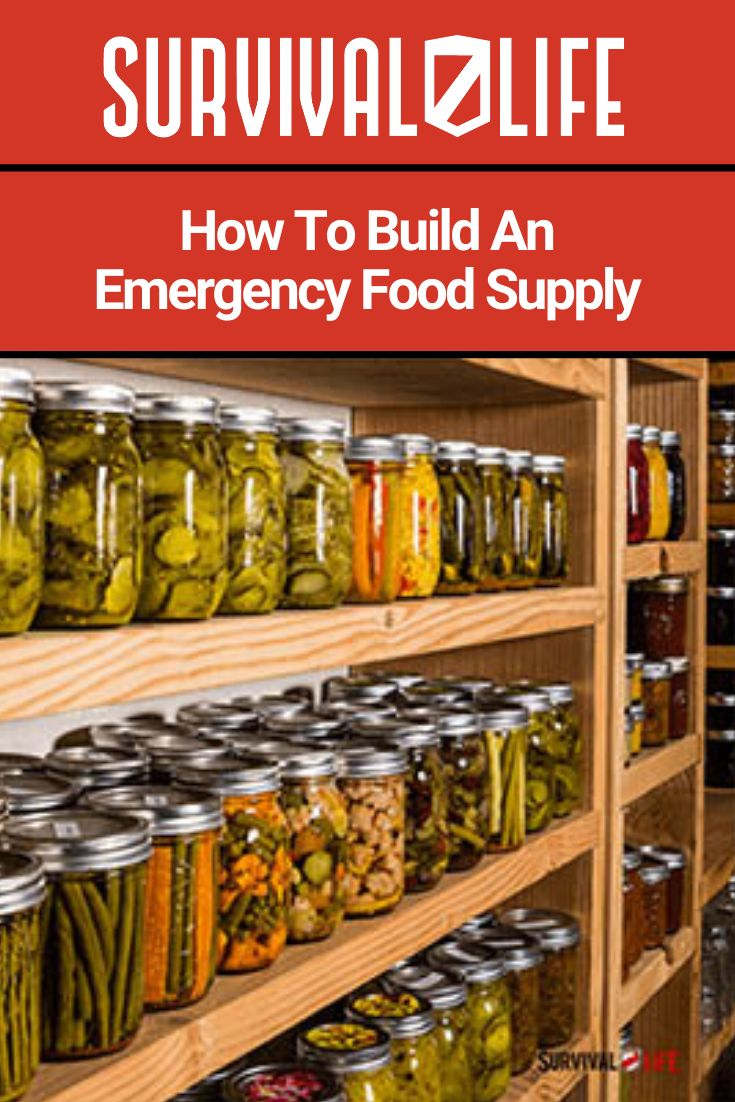 How to build an emergency food supply emergency food