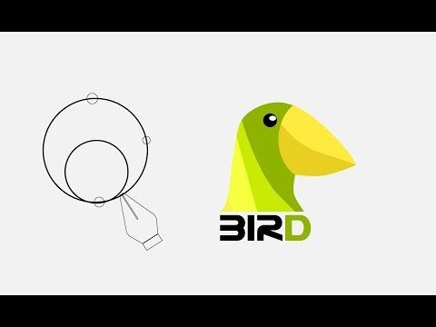 Logo design in Adobe illustrator CC tutorial - YouTube