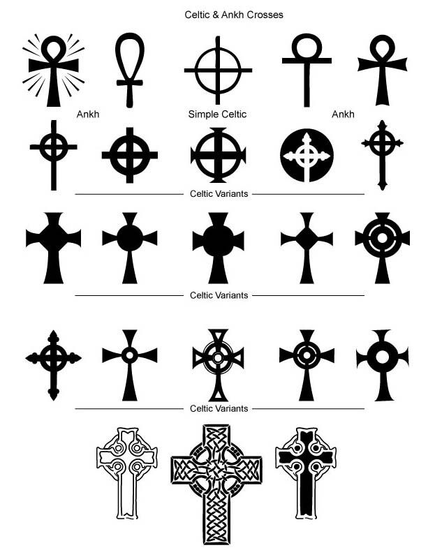 Celtic crosses                                                       …