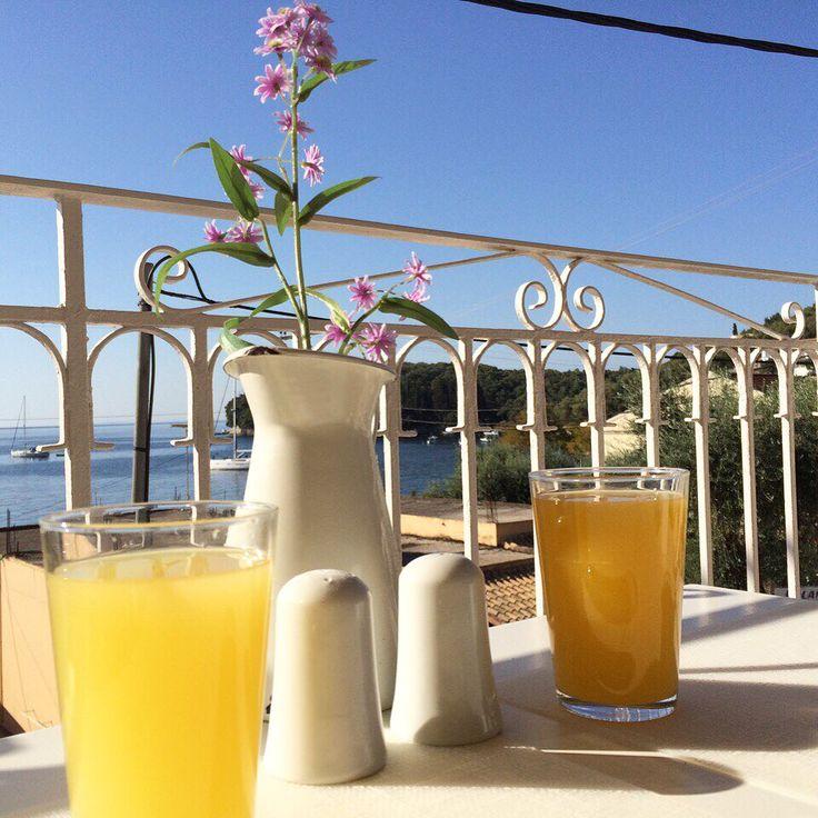 Corfu,kalami,breakfast,holiday,wonderful,balkony,withmylove,sea.