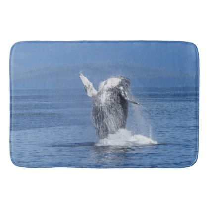 Humpback whale bathroom mat - animal gift ideas animals and pets diy  customize - Best 25+ Whale Bathroom Ideas On Pinterest Nautical Shelving
