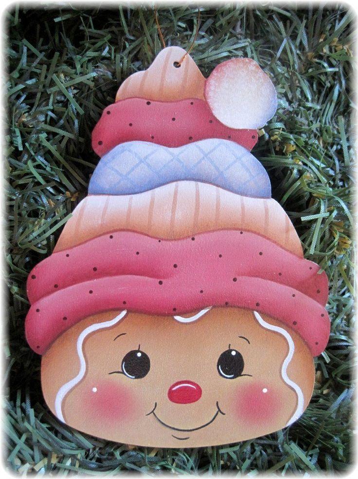 HP Gingerbread Face Ornament | eBay