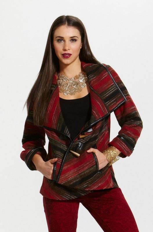 Picnic Duffle Coat by Fate  Now: $139.95 #winter #duffle #coat