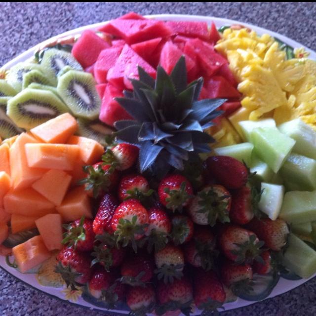 Home made fruit platter!!