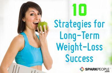 long term weight loss goal