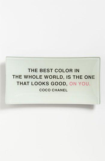 Quote CoCo Chanel fashion