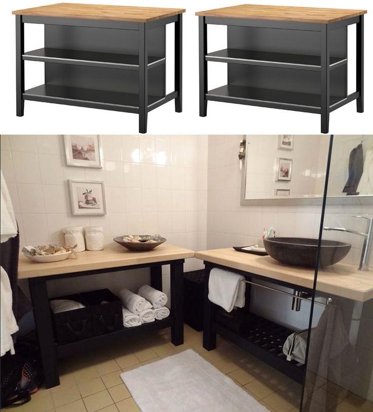 41 best Merchandising images on Pinterest Storage, Woodworking and - customiser un meuble de salle de bain