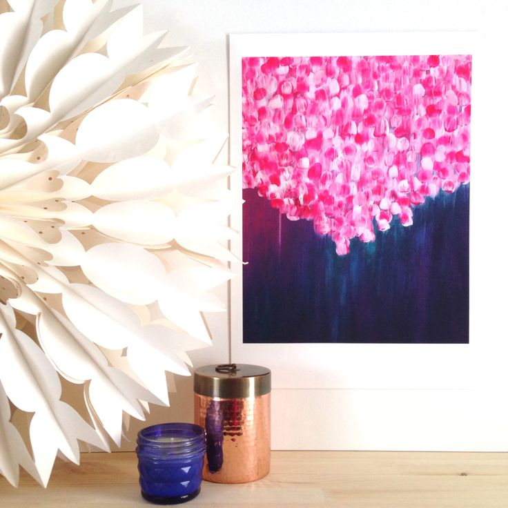 'Passion'is a part of 'The Journey Collection' of original paintings by Mel Boyd. This is a limited edition print which is hand signed and numbered by the artist. It is available in A2 and A3 size and is printed on beautiful 300gsm museum quality cotton rag with pigment inks.