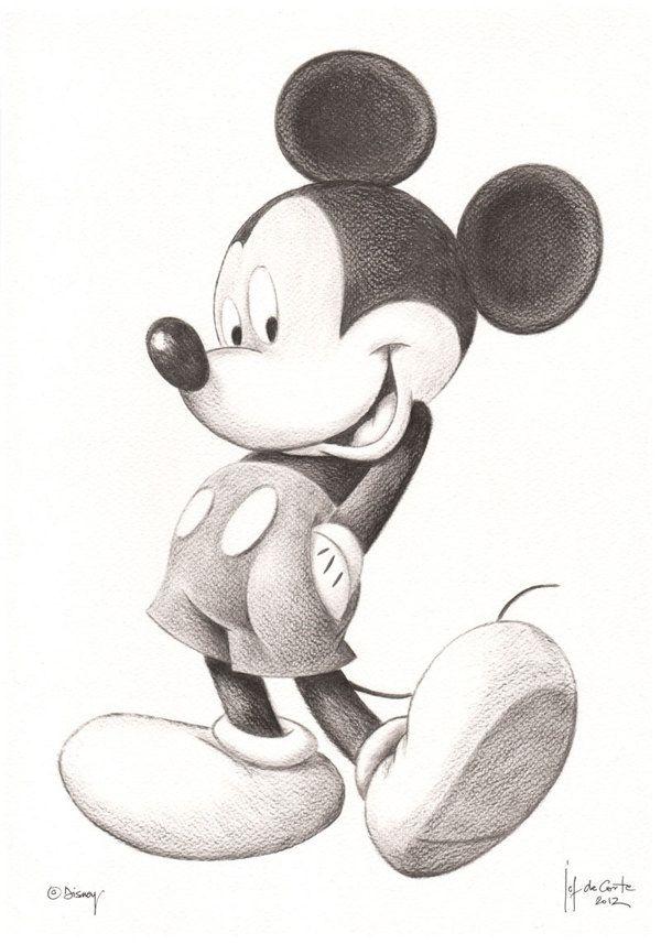 Микки маус простые рисунки