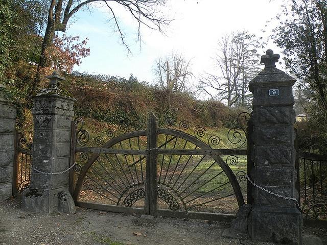 13 best portail entrée images on Pinterest Driveway gate, Exterior - motorisation portail battant ouverture exterieure