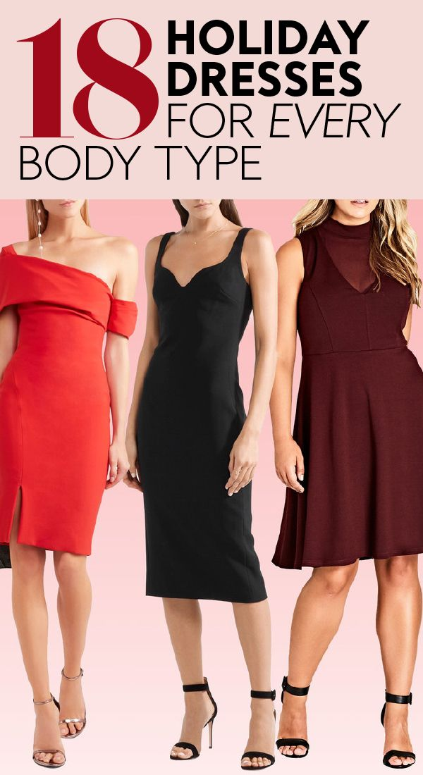 d2d80b30a1b We Found the Best Holiday Dresses for Your Body Shape