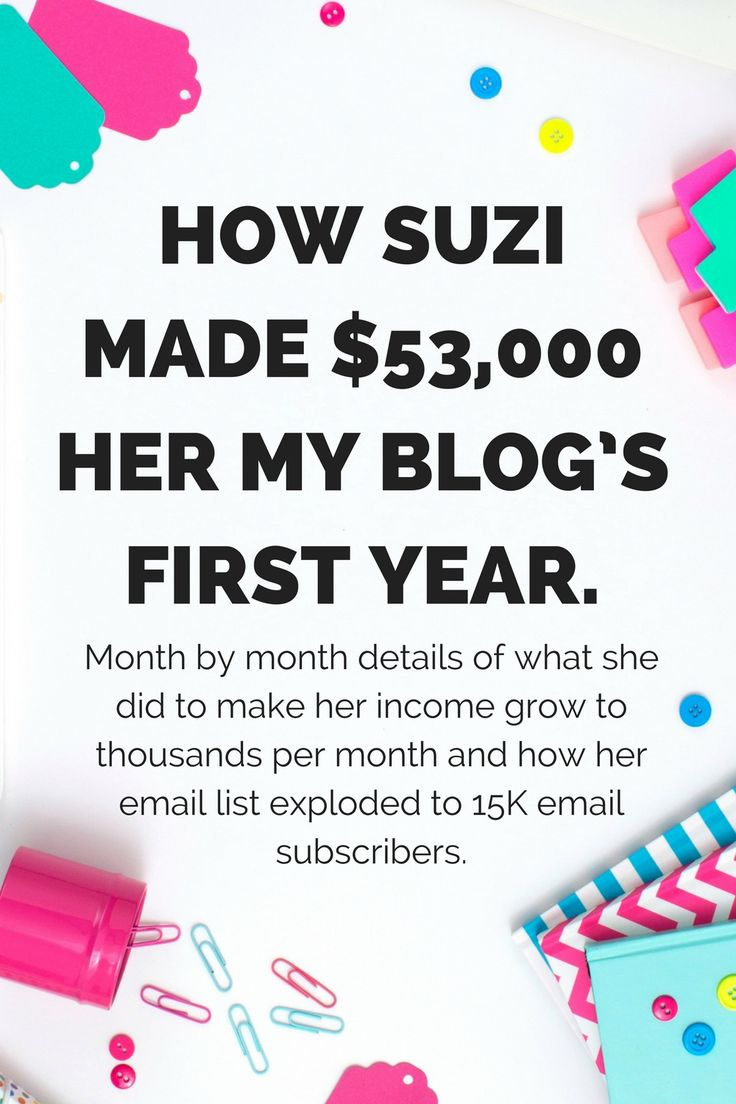 Bloggers never tell you everything you need to know to match their experience. Except for Suzi. She really lays it out there. I owe her a lot. Her course really helped me launch my site. #affiliate