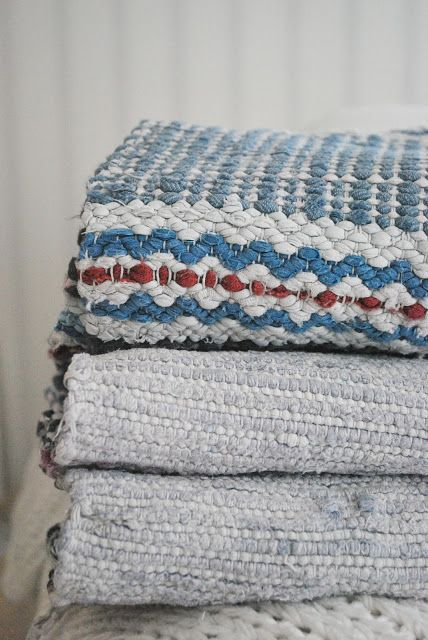 Cloth carpets - a proud tradition in Scandinavia.