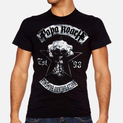 camisetas do papa roach - Pesquisa Google