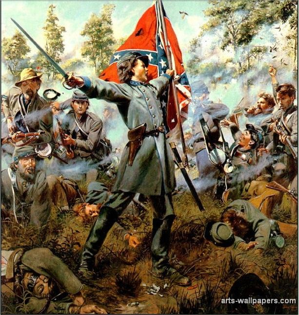 civil war paintings | American Civil War Paintings, Art, Prints, Gallery, Pictures, Artworks