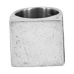 Cube ring in sterling silver - $350 at http://www.lordcoconut.com/shop/cube-ring/
