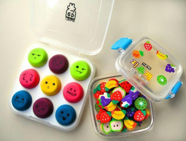 Cute Erasers.