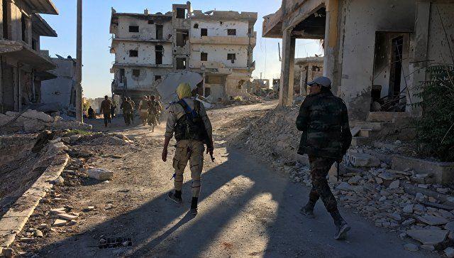 Το Κουτσαβάκι: Ο στρατός της Συρίας  ανέκτησε τον έλεγχο του στρα...