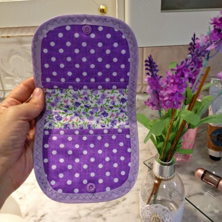 Porta absorvente patchwork.