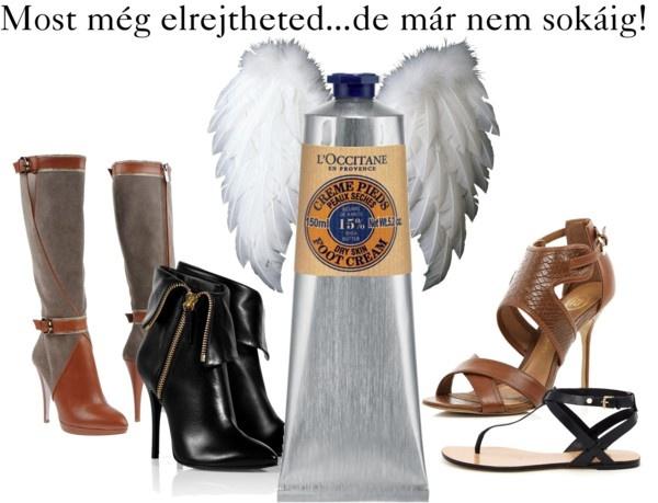 """L'OCCITANE Foot Cream: Helping Angel"" by pixibox on Polyvore"