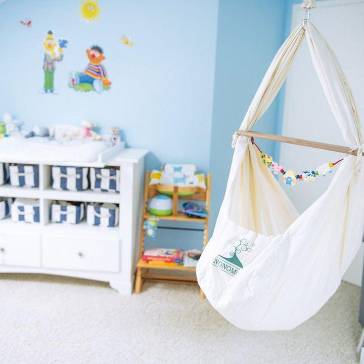 NONOMO® Babywiege | Federwiege | Babyhängematte, 169,90 EUR, #baby #nursery #hammock #crib #bed #sleeping