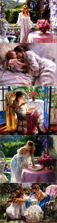 ART TERAPIE.  Artist Vicente Romero Redondo