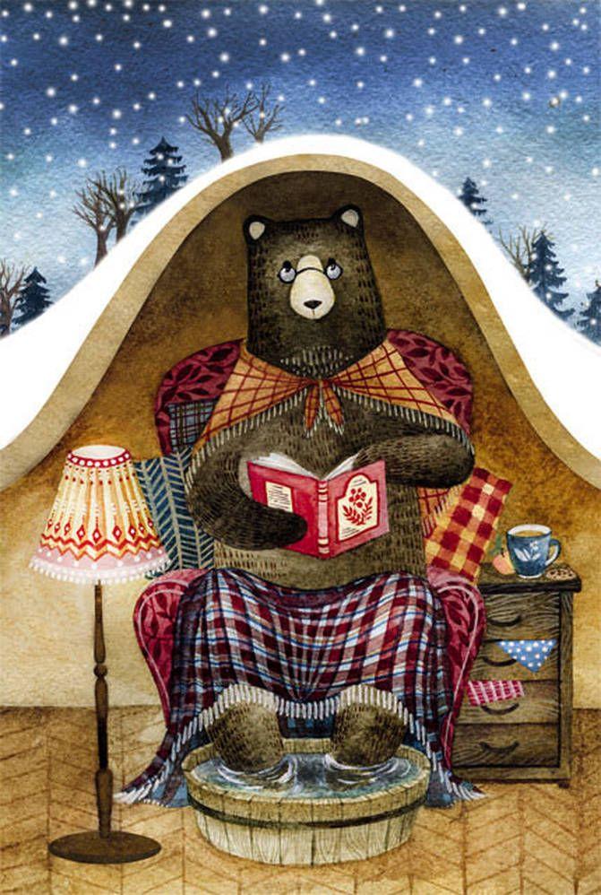 Медведь с открыток,