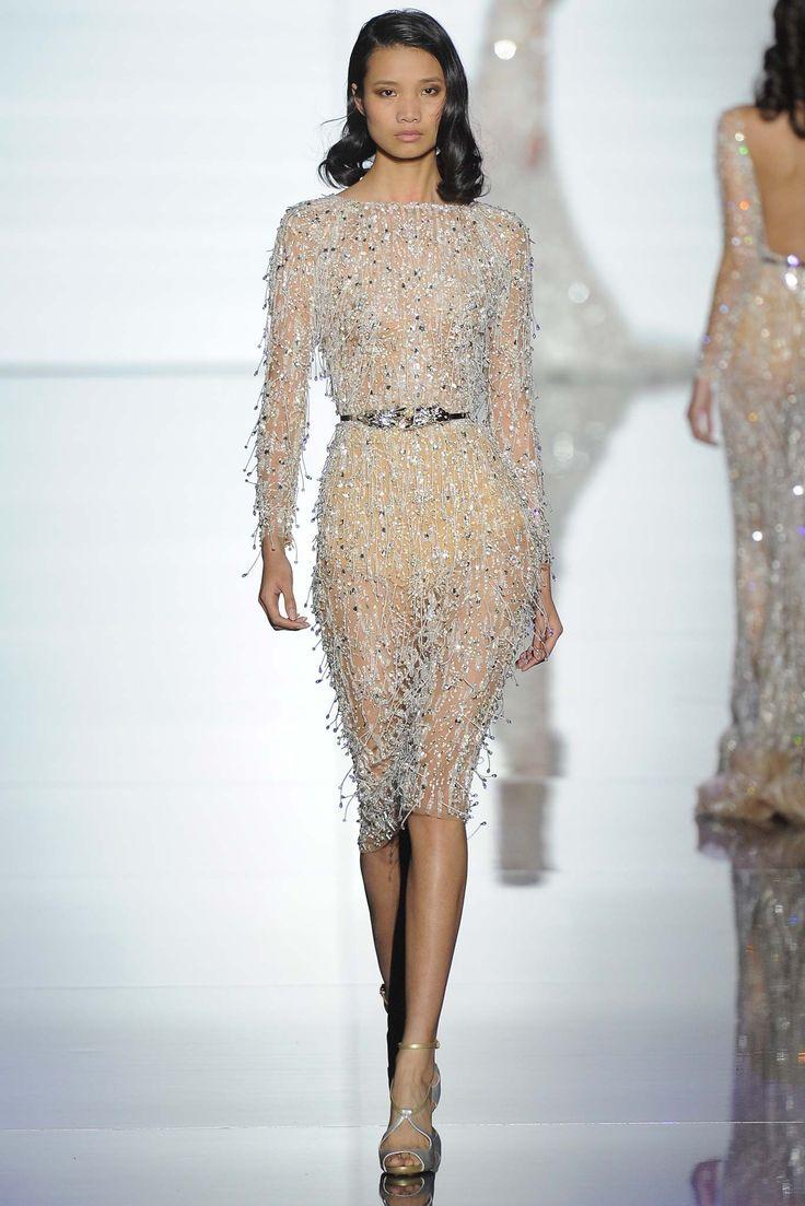 Zuhair Murad Spring 2015 Couture Fashion Show - Leaf Zhang (Premium)