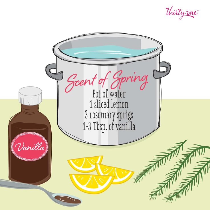 Make your house smell like spring!