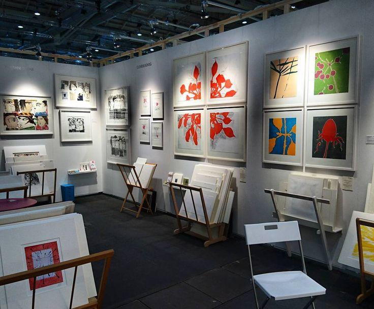 Big stand! Come to see us at the Affordable Art Fair in Hamburg. #alexanderarundell #clemensbuentig  #kristianesemar  #limitededition  #artfair #affordableartfairhamburg  #artlover