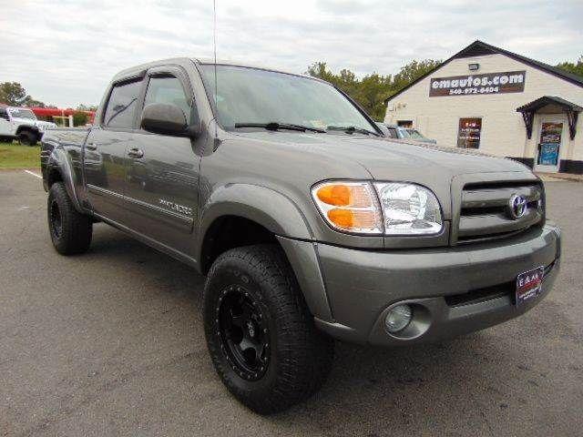 WWW.EMAUTOS.COM 2004 Toyota Tundra Limited Double Cab 4x4 In Locust Grove VA - E & M Auto Sales #Emautos