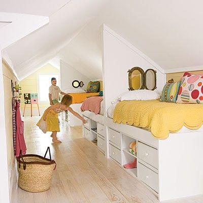 attic lofts.