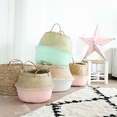 65ffe3b3e2630e panier-boule-bloomingville   MAYMAY   Pinterest   Room, Basket and Room  Decor