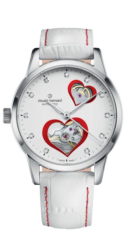 Montre femme Open Heart Love Edition de Claude Bernard #saintvalentin @kibodiosocial