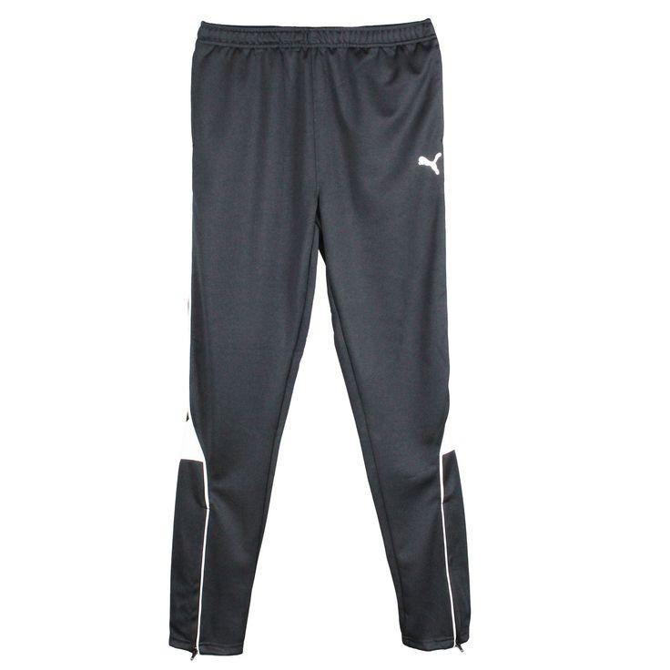 Puma Boys Tapered Leg Soccer Training Pants Black Large. Puma pure core  soccer pants are