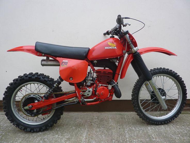 vintage motocross bikes for sale   honda cr250 1979 sold