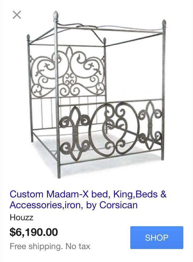 Beautiful Expensive Bed !!! http://www.houzz.com/photos/13226771/Custom-Madam-X-bed-King-eclectic-panel-beds