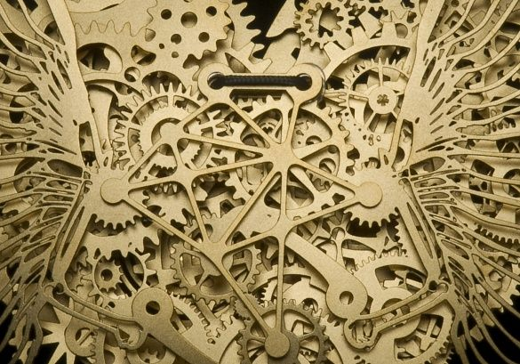 11 beautiful sculptures made from watch gears