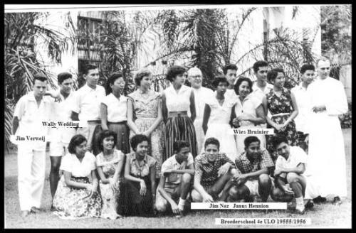 Broederschool ULO Soerabaja 1956-1957