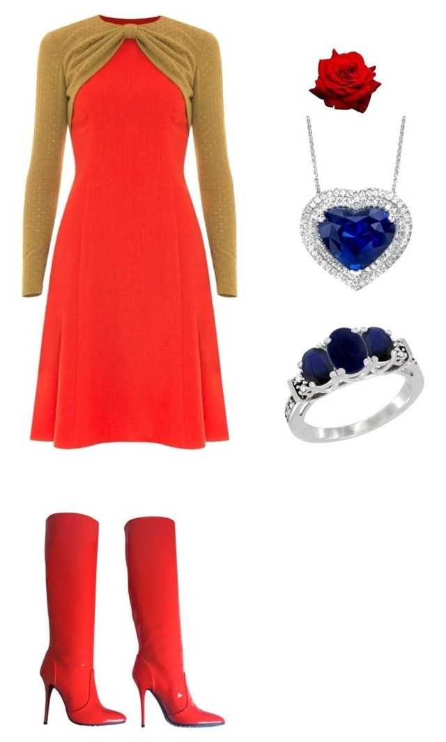 """""""At school outfit"""" by janiesthoughtsrevive on Polyvore featuring Victor Xenia and Giuseppe Zanotti"""