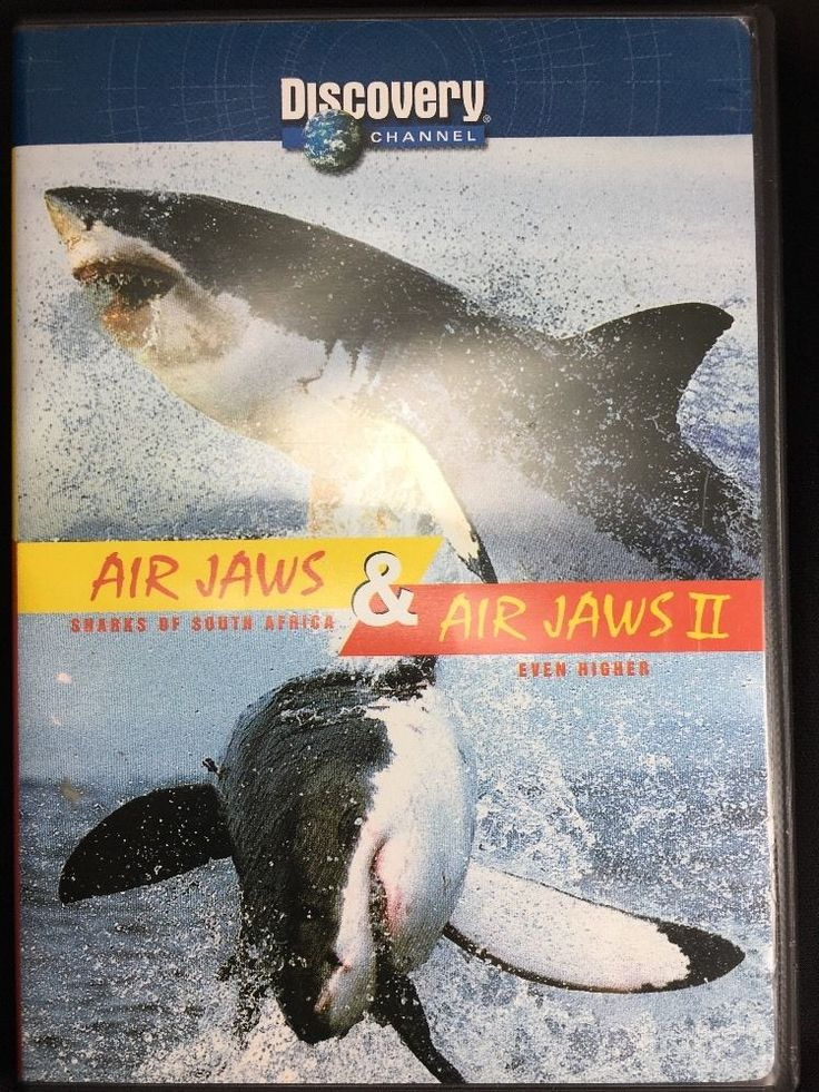 Discovery Channel AirJaws & Air Jaws II DVD Sharks South Africa Even Higher  | eBay