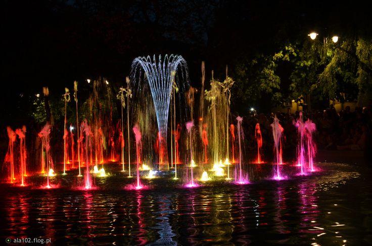 Tańcząca fontanna - Bydgoszcz