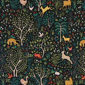 lovely fabric #animal #scenery #pattern
