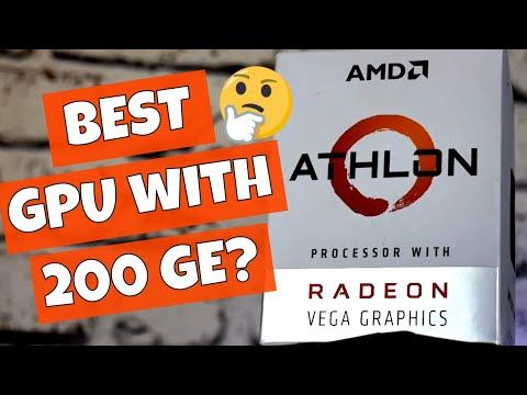 AMD Athlon 200GE VS GTX 970 Sweet Spot Or Not - YouTube | Computers