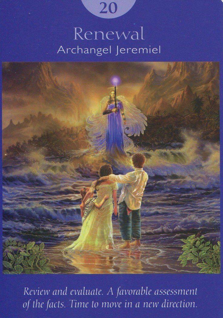 Angel Tarot Deck - Renewal 20 -Archangel Jeremiel ...